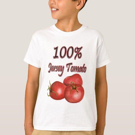 Jersey Tomatoes 100% T-Shirt