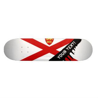 Jersey U.K. flag Skateboard Deck