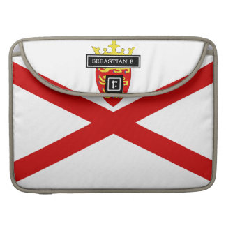 Jersey U.K. flag Sleeve For MacBook Pro