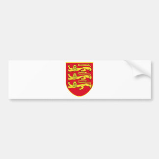 Jersey (UK) Coat of Arms Bumper Stickers