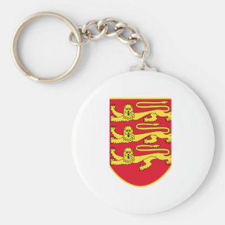 Jersey (UK) Coat of Arms Keychain