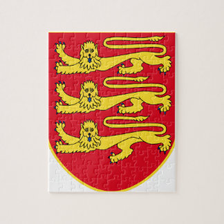 Jersey (UK) Coat of Arms Jigsaw Puzzle