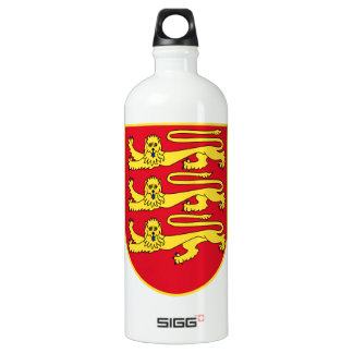 Jersey (UK) Coat of Arms Water Bottle