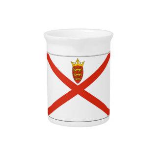 Jersey (UK) Flag Drink Pitchers