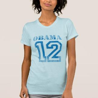 JERSEY Vintage png AZUL de OBAMA 12 Camisetas