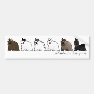 Jersey Wooly Group Bumper Sticker