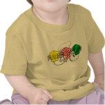 Jerseys de ciclo lunar del verde amarillo y del ro camisetas