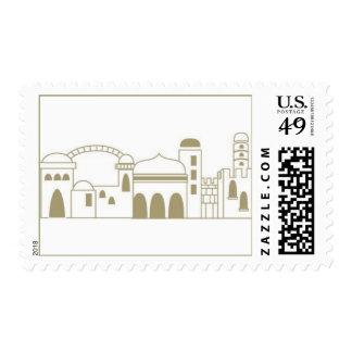 Jerusalem2 Postage Stamp