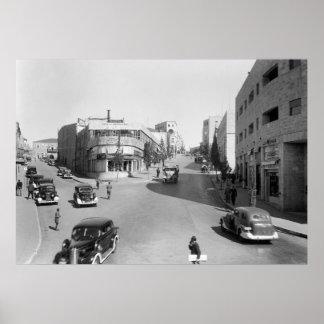 Jerusalem, 1940s poster