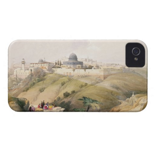 Jerusalem, April 9th 1839, plate 16 from Volume I iPhone 4 Covers