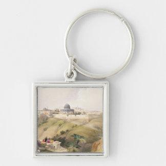 Jerusalem, April 9th 1839, plate 16 from Volume I Keychain
