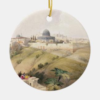 Jerusalem, April 9th 1839, plate 16 from Volume I Ornaments