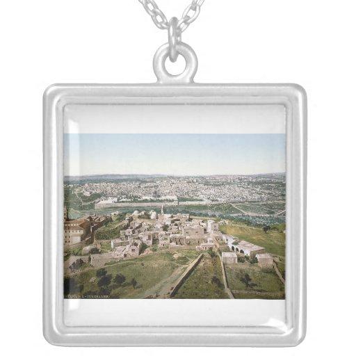 Jerusalem around 1900 necklaces
