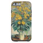 Jerusalem Artichoke Flowers, 1880 (oil on canvas) Tough iPhone 6 Case