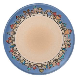 Jerusalem At Last (Dinner Plate)