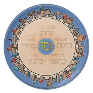 Jerusalem At Last (Seder) Dinner Plate