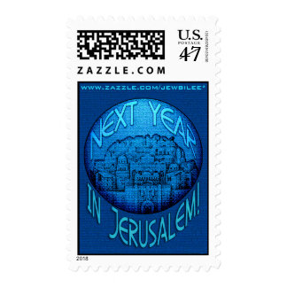 Jerusalem Blue Postage
