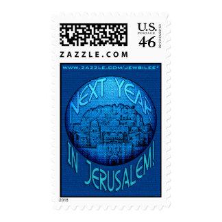 Jerusalem Blue Stamps