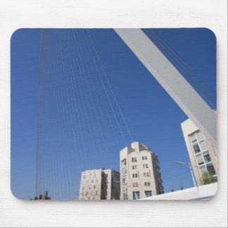 Jerusalem Chords Bridge Mouse Pad