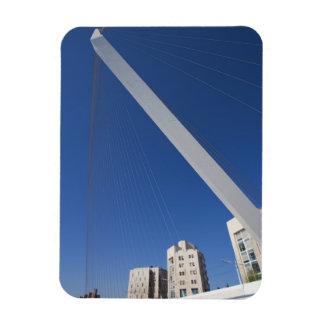 Jerusalem Chords Bridge Rectangular Photo Magnet