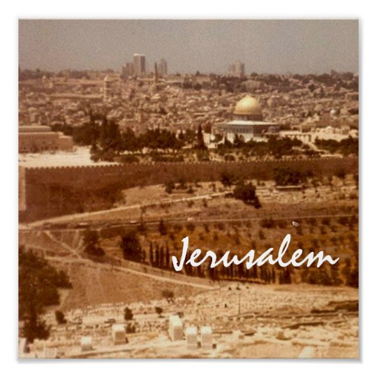 Jerusalem City of Gold Print