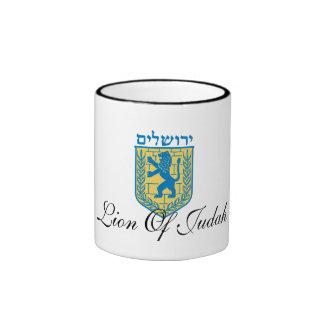 Jerusalem Coat Of Arms Mug.