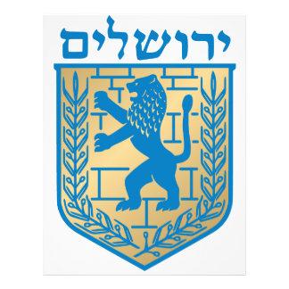 Jerusalem coat of arms - Oficial Shield Flyers