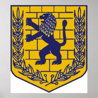 Jerusalem Crest Print