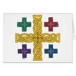 Jerusalem Cross card