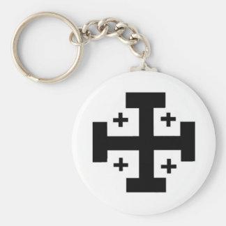 Jerusalem Cross Key Chain