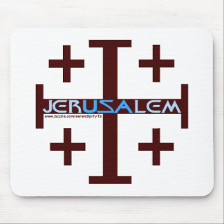 Jerusalem Cross Mouse Pad