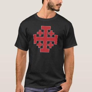 Jerusalem Cross Red T-Shirt