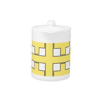 Jerusalem Cross Teapot