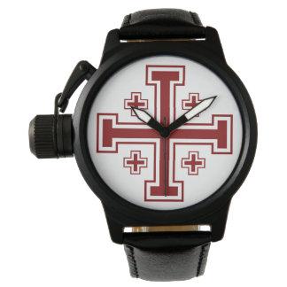 Jerusalem Cross Wrist Watch