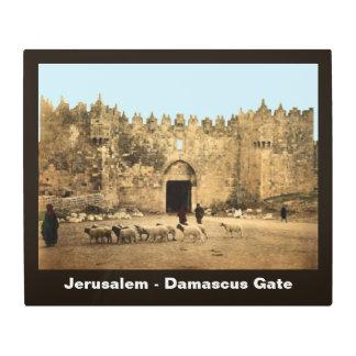 Jerusalem - Damascus Gate Metal Print
