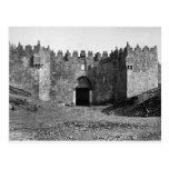 Jerusalem Damascus Gate Vintage 1870 Photo Post Cards