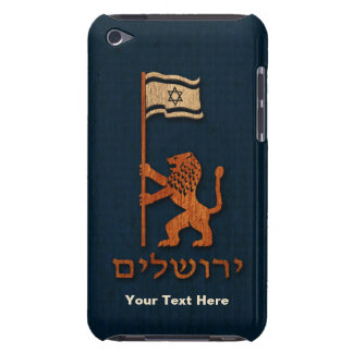 Jerusalem Day Lion With Flag Barely There iPod Cover