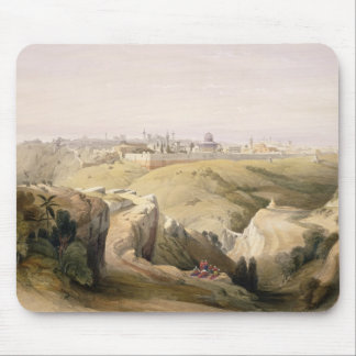 Jerusalem from the Mount of Olives, April 8th 1839 Mouse Pad