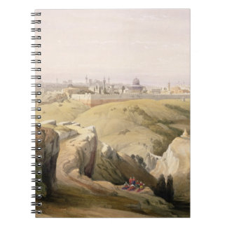 Jerusalem from the Mount of Olives, April 8th 1839 Notebook