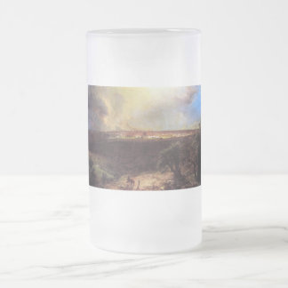 Jerusalem from the Mount of Olives by Church Frosted Glass Beer Mug