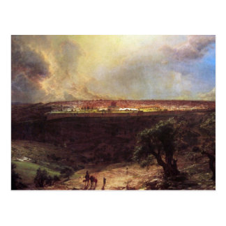 Jerusalem from the Mount of Olives by Church Postcard