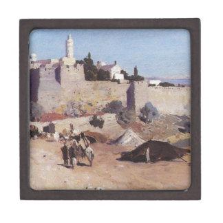Jerusalem from the west. Jaffa Gate Jewelry Box