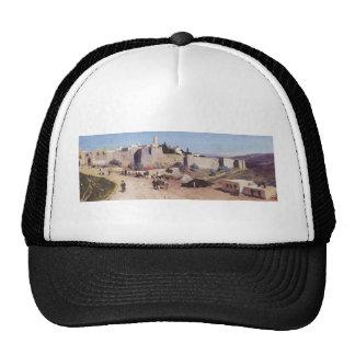 Jerusalem from the west. Jaffa Gate Trucker Hat