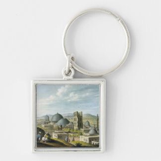 Jerusalem from the West, pub. by William Watts, 18 Key Chain