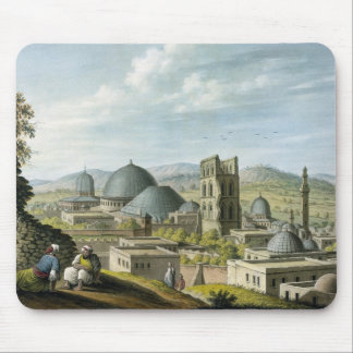 Jerusalem from the West, pub. by William Watts, 18 Mouse Pad