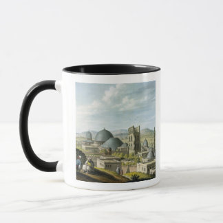 Jerusalem from the West, pub. by William Watts, 18 Mug