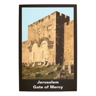 Jerusalem - Gate Of Mercy Metal Photo Print