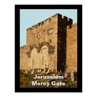 Jerusalem - Gate of Mercy Poster