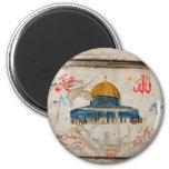Jerusalem Graffiti 2 Inch Round Magnet