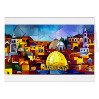 JERUSALEM HEART CARD